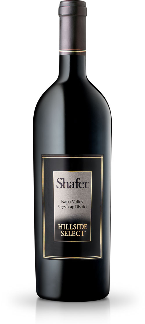 Shafer Hillside Select wine bottle